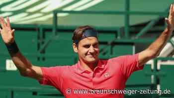Rekordsieger Federer zieht in Halle in Runde zwei ein
