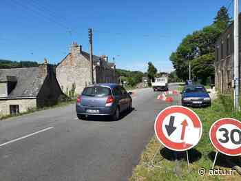 Route Pontivy-Cléguérec : attention à l'écluse ! - actu.fr