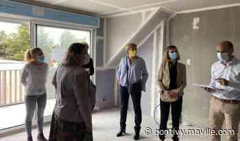 Plouhinec. Visite de la future résidence du Domaine de Penester - maville.com
