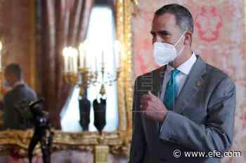 Felipe VI recibe la primera Medalla de Honor de Andalucía - Agencia EFE