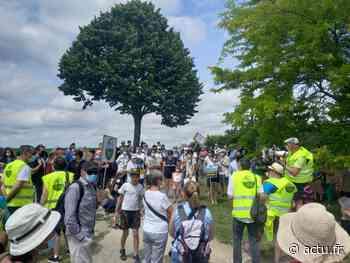A Thorigny-sur-Marne, 200 personnes manifestent pour préserver la Dhuis - actu.fr