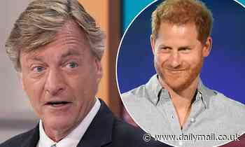 Richard Madeley takes a swipe at Prince Harry for speaking 'inappropriately' about royal family