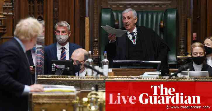 UK Covid live: Speaker says sidelining of Commons over England lockdown delay 'totally unacceptable'