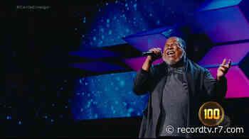 André Luis aposta em música de Oswaldo Montenegro por vaga no Canta Comigo 3 - Record TV