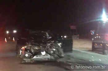 Dois feridos em acidente em Montenegro - Fato Novo