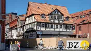 Braunschweig: Zwei Fachwerk-Häuser werden abgerissen