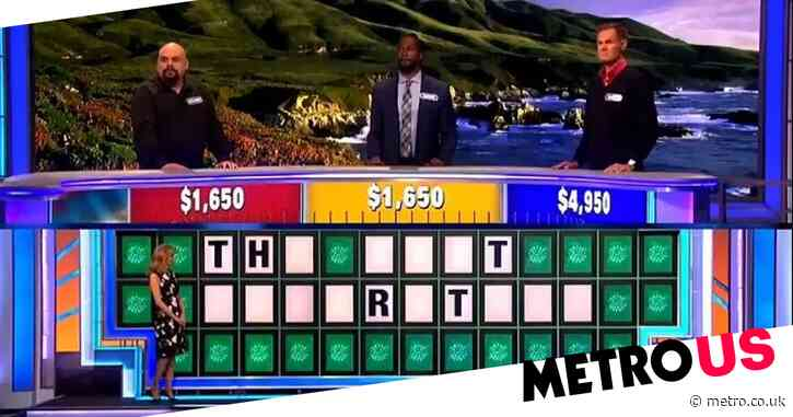 Wheel of Fortune contestant could not be more wrong as he makes baffling guess which leaves host stunned