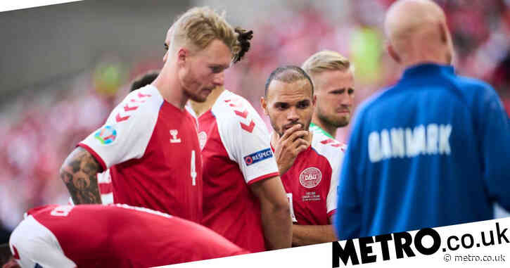 UEFA respond to claims they forced Denmark's players to play on after Christian Eriksen collapsed
