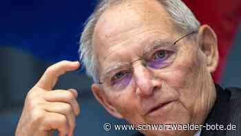 Desinformation im Netz - Bundestagspräsident sieht Teilöffentlichkeiten im Internet - Schwarzwälder Bote