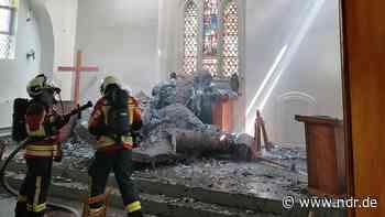 Wolgast: Feuer in St. Jürgen-Kapelle war wohl Brandstiftung - NDR.de