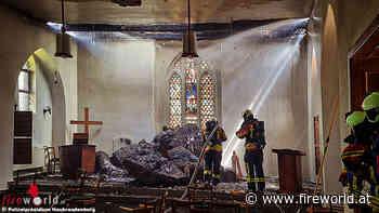 D: 350.000,- Euro Schaden bei Brand der Sankt Jürgen Kapelle in Wolgast - Fireworld.at