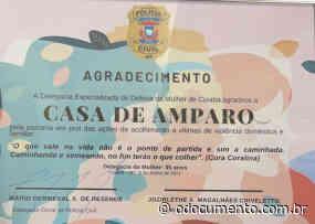 Delegacia da Mulher reconhece serviços prestados pela Casa de Amparo e presta homenagem - O Documento
