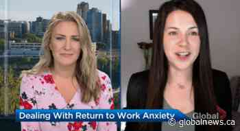 Dealing with anxiety over returning to in-office work