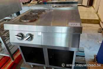 15 juni loopt veiling met spullen van El Kaouakibi ten einde: amper 32 euro geboden voor kookfornuis