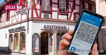 Jetzt auch digital: Der Start der Impf-Zertifikate in Alzey - Allgemeine Zeitung