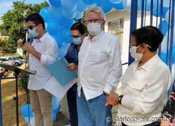 Luiz Antônio Corrêa participa de inaugurações em Pinheiral - Diario do Vale