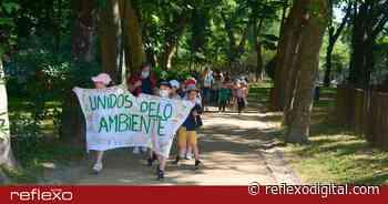 """Escola do Pinheiral fez """"Caminhada pelo ambiente"""" - Reflexo Digital"""