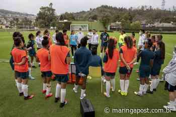 RÁDIO MARINGÁ - Seleção Feminina Sub-20 do Brasil se apresenta em Pinheiral para treinamentos - Orlando Gonzalez - Maringá Post