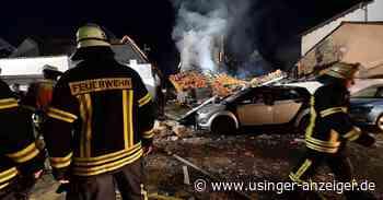 Gebäude in Friedrichsdorf-Seulberg nach Brand völlig zerstört - Usinger Anzeiger