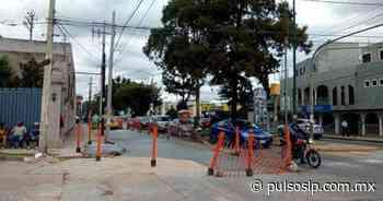 Arreglos en calles complican tráfico cerca de El Dorado - Pulso Diario de San Luis