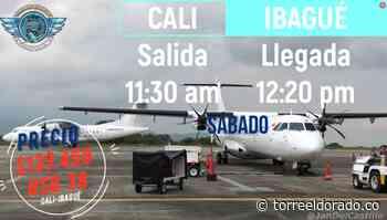 Easyfly Programa Vuelos Entre Cali e Ibagué Durante Junio - torreeldorado.co