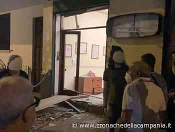 Bomba distrugge ditta onoranze funebri nel Casertano - Cronache della Campania