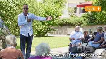 """Vor """"Chicago""""-Premiere: Musicaldarsteller Alexander Franzen singt für Senioren"""