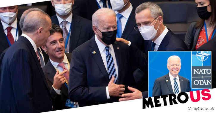 Joe Biden sends 'strong message' of commitment to NATO unlike Donald Trump