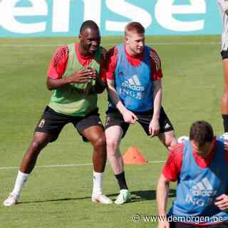 Live - EK voetbal. Kevin De Bruyne traint voor het eerst mee bij de Rode Duivels