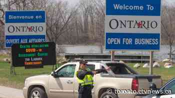 Ontario announces it will reopen provincial borders on June 16