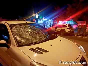 EM ESTEIO: pedestre vai parar no hospital após ser atropelado no Centro - Agência GBC