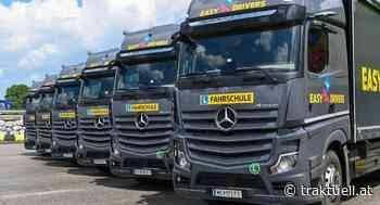 Mercedes-Benz Actros für Easy Drivers Berufskraftfahrer | Fahrschule | Branchen - Traktuell