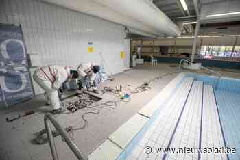 De kraan gaat open: zwembad is hersteld (Nijlen) - Het Nieuwsblad