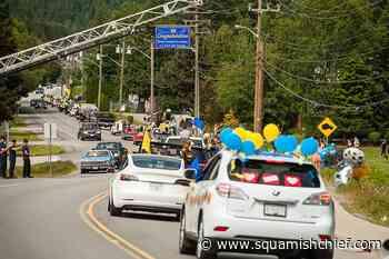 Squamish Graduation Parade 2021 rolls through town (PHOTOS) - Squamish Chief