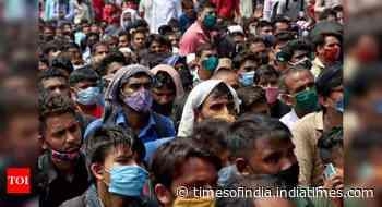 Coronavirus live updates: Over 8,000 new cases in Maharashtra, 529 in Mumbai - Times of India