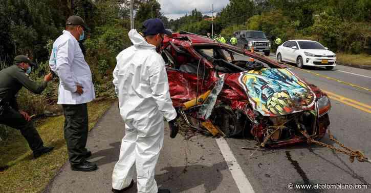 Identificadas las víctimas del accidente en Rionegro - El Colombiano
