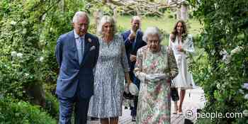 The Queen, Charles, Camilla, William and Kate Mount a Historic Charm Offensive to Greet G-7 Leaders - PEOPLE