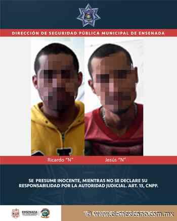 Detienen a dos en posesión de droga en Ensenada - El Mexicano Gran Diario Regional