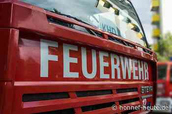 Wohnungsbrand in Asbach - Honnef heute
