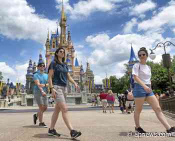 Será opcional el uso de cubrebocas en Disney World Florida - AP News