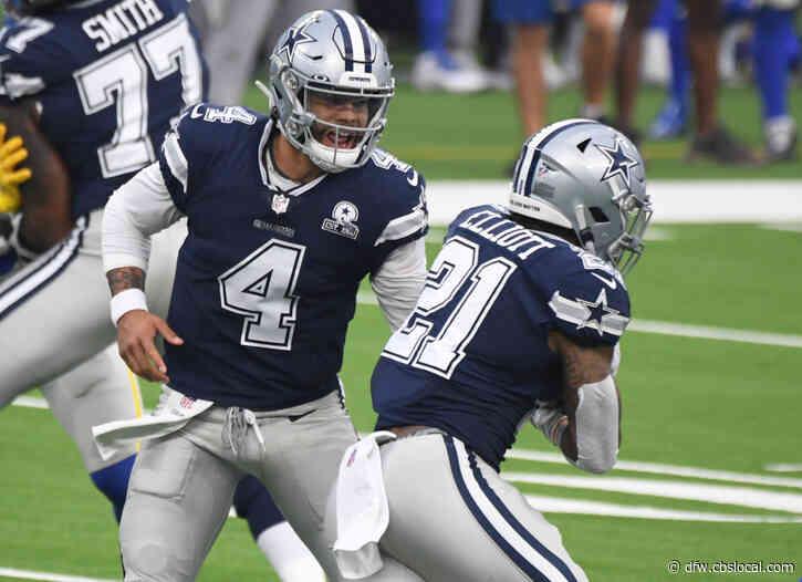 Cowboys' Dak Prescott Says Ezekiel Elliott In 'Best Shape Of His Life'
