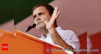 Betrayal in name of Lord Ram is unrighteous: Rahul Gandhi on Ayodhya land deal