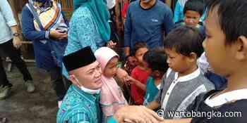Herry Erfian Salurkan Donasi untuk Ponpes Tahfiz Qur'an Guntur Pakelan Batu – Warta Bangka - wartabangka