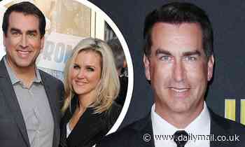 Rob Riggle claims estranged wife 'planted hidden camera, hacked Apple account, and took $28K'