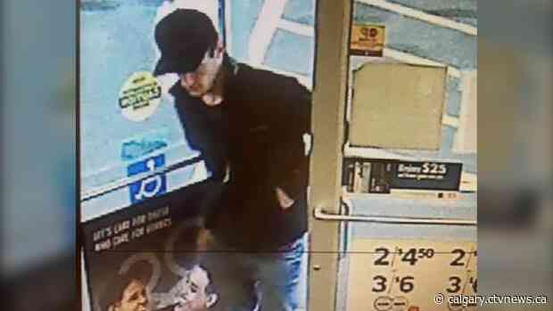 Surveillance images released of suspect in High River, Alta. car prowling, vehicle theft