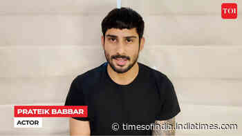 #GetIndiaVaccinated: Prateik Babbar's message to public