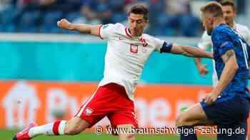 Fehlstart für Lewandowski: Polen verliert gegen die Slowakei