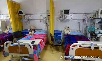 Hospital units for children's care fell by 19% over the past 10 years