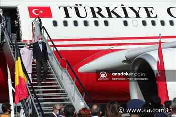 El presidente de Turquía llega a Bruselas para la cumbre de la OTAN - Agencia Anadolu - Anadolu Agency