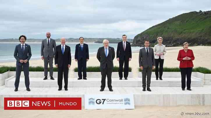 Cumbre del G7: el anuncio de la donación de 1.000 millones de vacunas y otras claves de la reunión - BBC News Mundo
